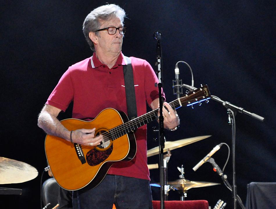 Eric Clapton O2 World Hamburg 2013