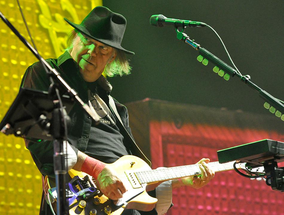 Neil Young in der O2 World Hamburg
