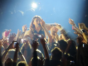 Jared Leto von 30 Seconds to Mars in Hamburg