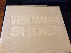 Schuh-Karton Vegetarian Shoes