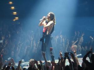 Jared Leto beim Konzert von 30 Seconds to Mars in Hamburg