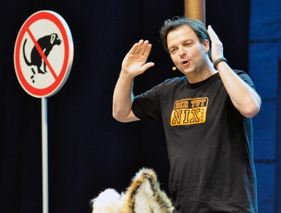 Martin Rütter in der O2 World Hamburg (8.März 2014)