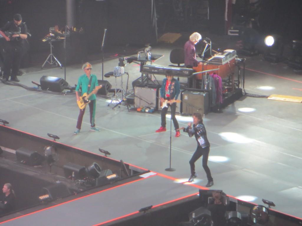 Rolling Stones live auf der Waldbühne in Berlin am 10. Juni 2014