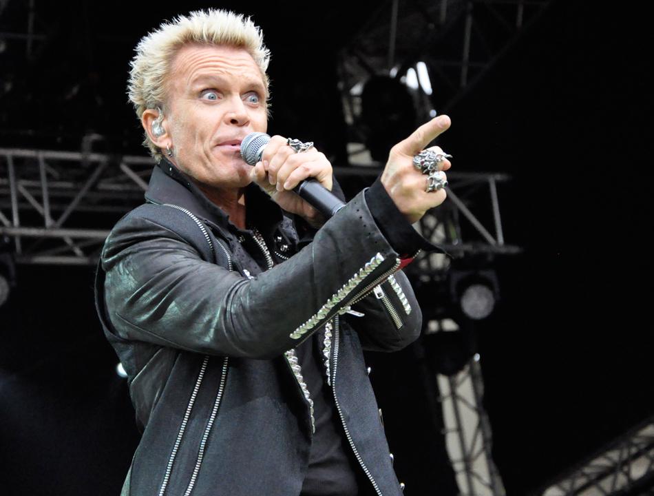 Billy Idol live im Hamburger Stadtpark (18.06.14)