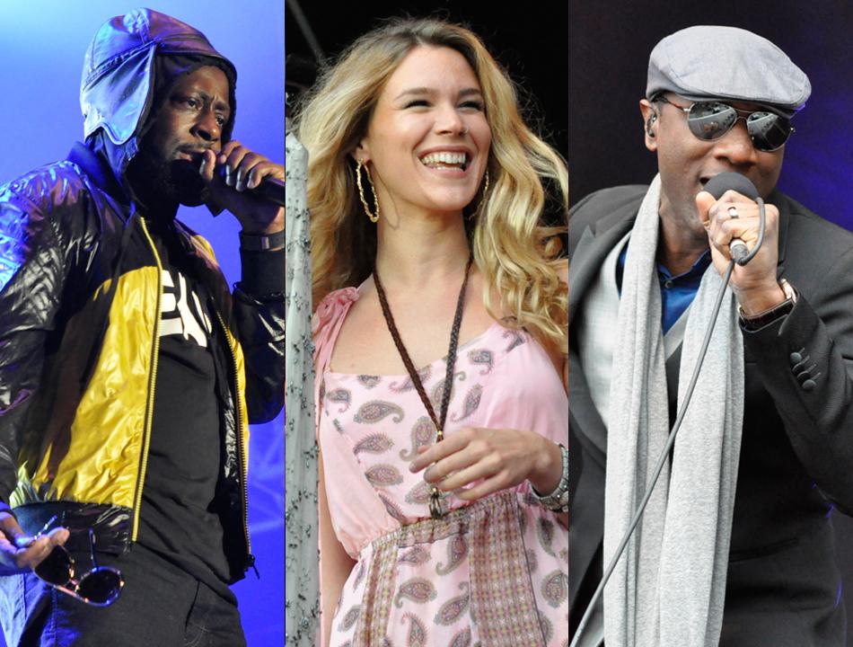 Wyclef Jean, Joss Stone und Aloe Blacc beim Hamburger Soul im Hafen (22.08.14)