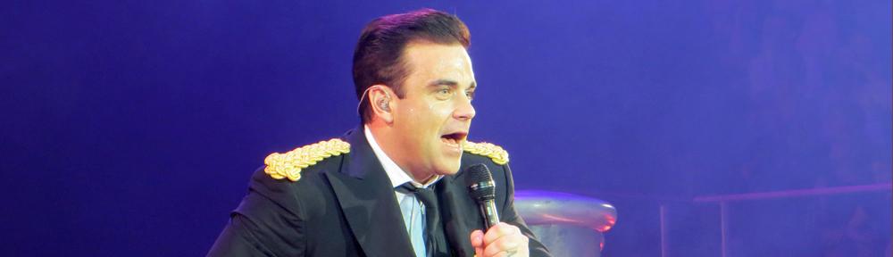 Robbie swingt in Hamburg.