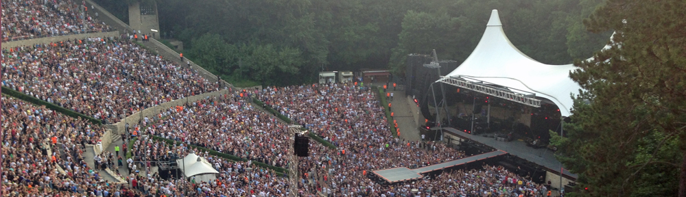Rolling Stones auf der Waldbühne.