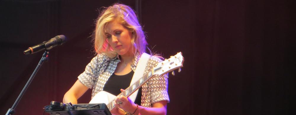 Ellie Goulding rockt im Stadtpark