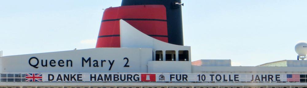 Queen Mary 2: 10 Jahre Hamburg