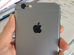 Das neue iPhone 6 in Spacegrey