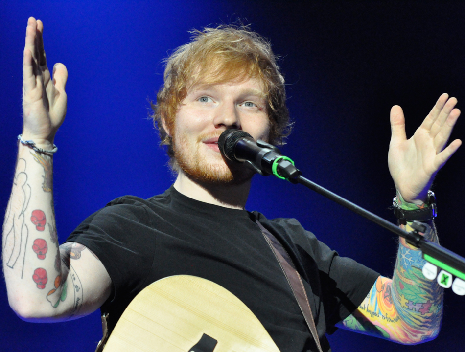 Ed Sheeran live in der O2 World Hamburg am 06.11.14