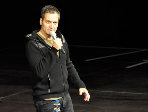 Comedian Dieter Nuhr in der o2 World Hamburg am 06.02.15