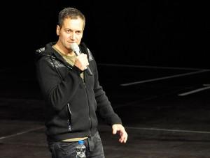 Comedian Dieter Nuhr in der o2 World Hamburg am 06.02.15