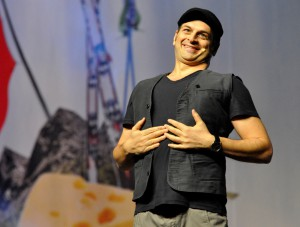 Comedian Kaya Yanar in der o2 World Hamburg, 23.01.15