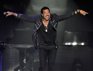 Sänger Lionel Richie live in der o2 World Hamburg, 19.02.15