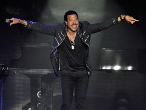 Sänger Lionel Richie live in der o2 World Hamburg, 19.02.15