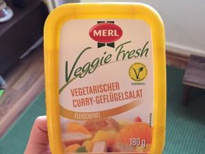 Vegetarischer Curry-Geflügelsalat von Merl