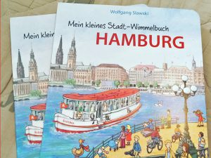 das kleine stadt-wimmelbuch hamburg, hamburg-wimmelbuch