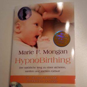 Buch ueber Hypnobitthing, Marie F. Morgan