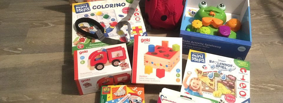 Spielzeug und Produkte, die wir getestet haben