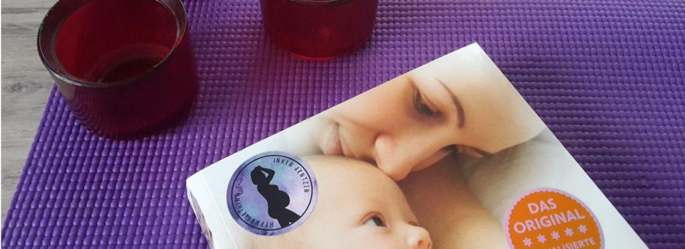 Hypnobirthing Symbolbild, Buch und Kerzen