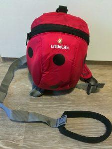 Marienkäfer-Rucksack von Little Life mit Leine
