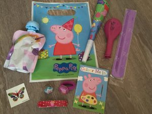 Peppa Pig Mitgebsel zum Kindergeburtstag