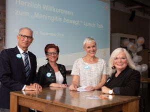 """Experten beim """"Meningitis bewegt."""" Lunch Talk in Hamburg"""