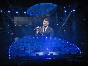 Michael Bublé Konzert in Hamburg mit toller Lichtshow