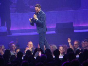 Michael Bublé bei seinem Konzert in Hamburg